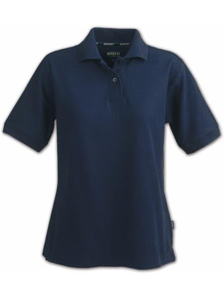 Рубашка поло женская SEMORA, темно-синяя