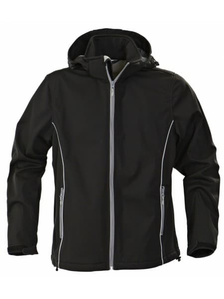 Куртка софтшелл мужская SKYRUNNING, черная