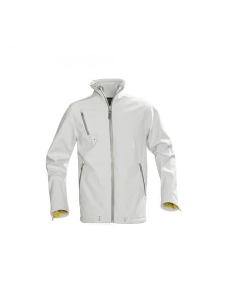 Куртка софтшелл мужская SNYDER, белая