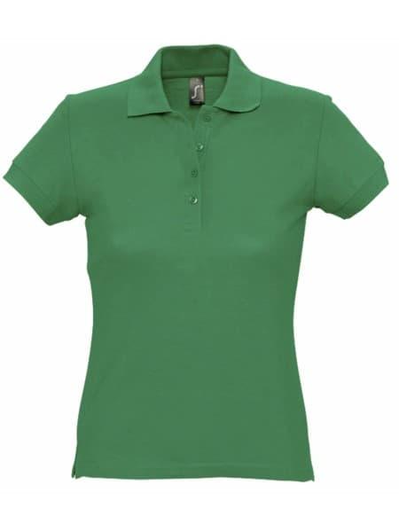 Рубашка поло женская PASSION 170, ярко-зеленая