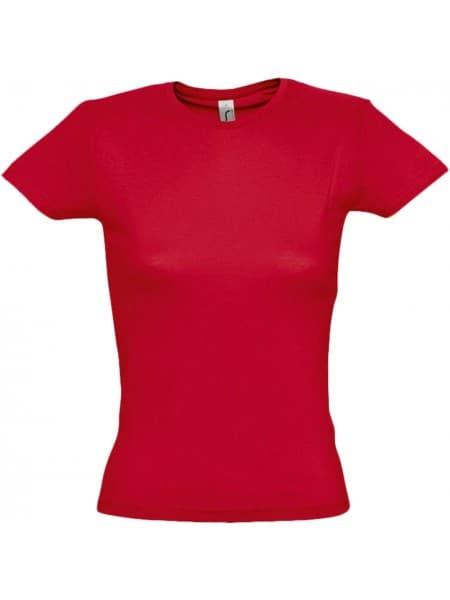 Футболка женская MISS 150, красная