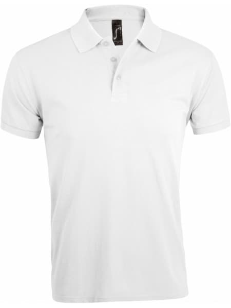 Рубашка поло мужская PRIME MEN, белая