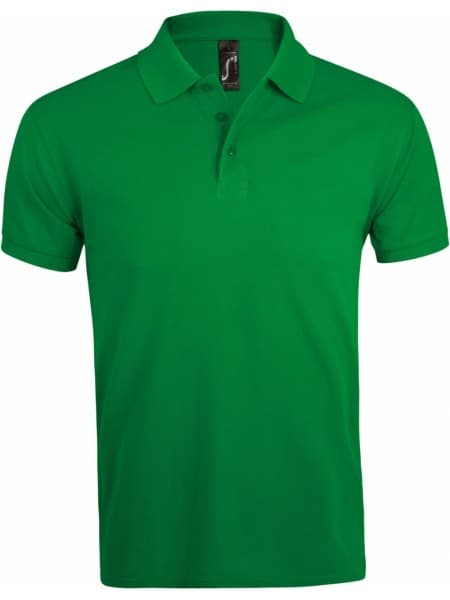 Рубашка поло мужская PRIME MEN 200 ярко-зеленая