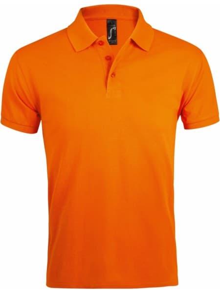 Рубашка поло мужская PRIME MEN 200 оранжевая