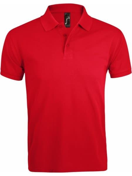 Рубашка поло мужская PRIME MEN 200 красная
