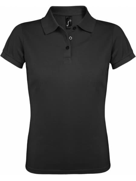 Рубашка поло женская PRIME WOMEN 200 темно-серая
