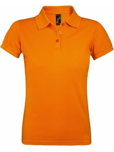 Рубашка поло женская PRIME WOMEN 200 оранжевая