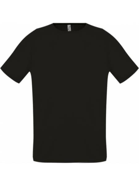 Футболка унисекс SPORTY 140, черная