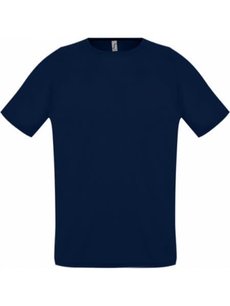 Футболка унисекс SPORTY 140, темно-синяя