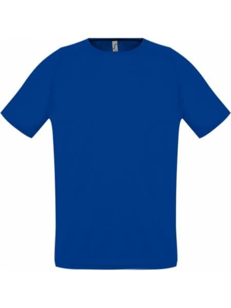 Футболка унисекс SPORTY 140, ярко-синяя