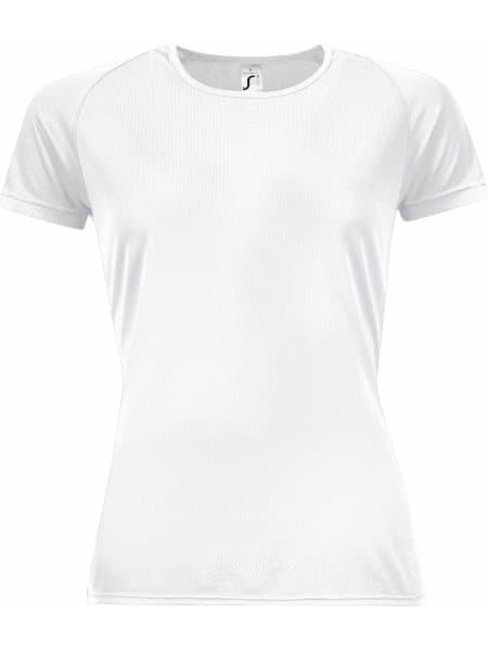 Футболка женская SPORTY WOMEN 140, белая