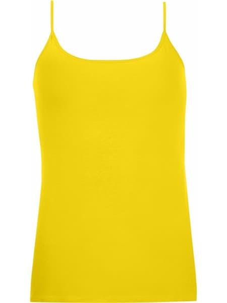 Топ на бретельках JOY 160, лимонно-желтый