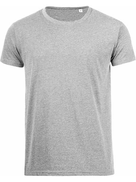 Футболка мужская MIXED MEN 150 светло-серый меланж
