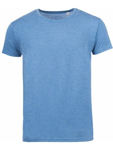 Футболка мужская MIXED MEN голубой меланж