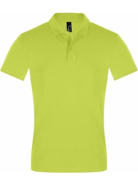 Рубашка поло мужская PERFECT MEN 180 зеленое яблоко