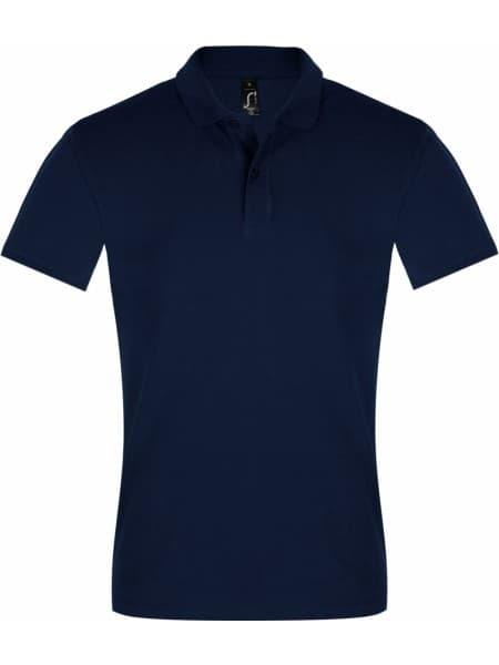 Рубашка поло мужская PERFECT MEN 180 темно-синяя