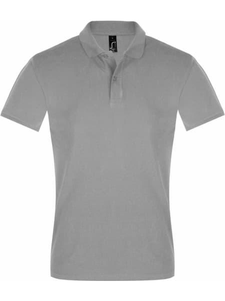 Рубашка поло мужская PERFECT MEN 180 серый меланж