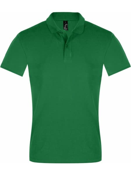 Рубашка поло мужская PERFECT MEN 180 ярко-зеленая