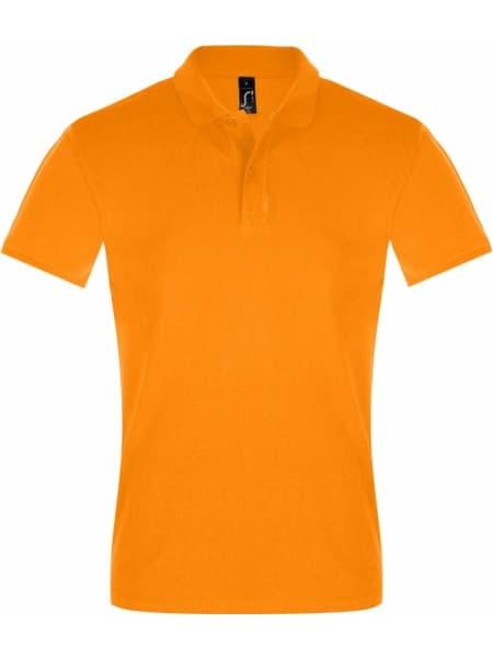 Рубашка поло мужская PERFECT MEN 180 оранжевая