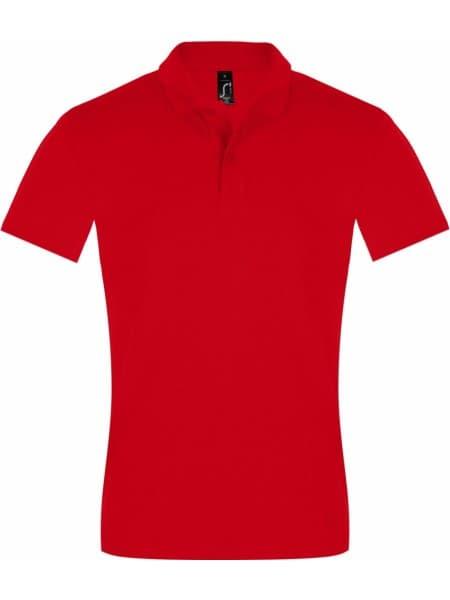 Рубашка поло мужская PERFECT MEN 180 красная