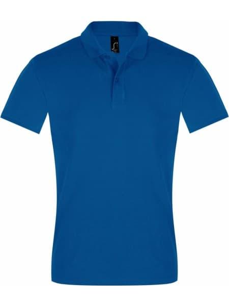 Рубашка поло мужская PERFECT MEN 180 ярко-синяя