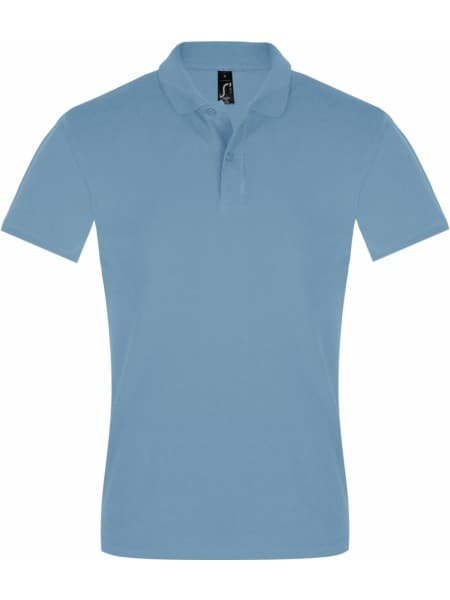 Рубашка поло мужская PERFECT MEN 180 голубая