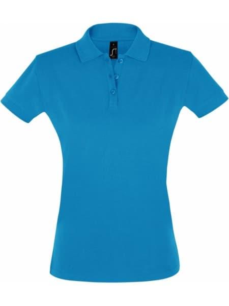 Рубашка поло женская PERFECT WOMEN 180 бирюзовая