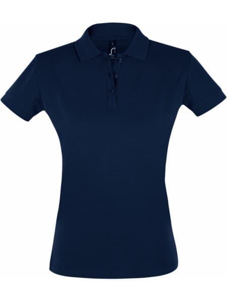 Рубашка поло женская PERFECT WOMEN 180 темно-синяя