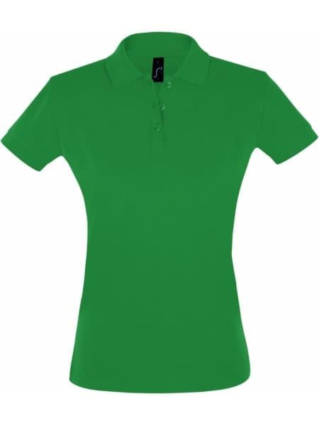 Рубашка поло женская PERFECT WOMEN 180 ярко-зеленая