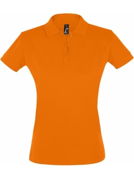 Рубашка поло женская PERFECT WOMEN 180 оранжевая