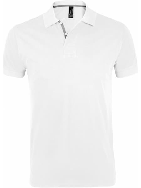 Рубашка поло мужская PORTLAND MEN 200 белая