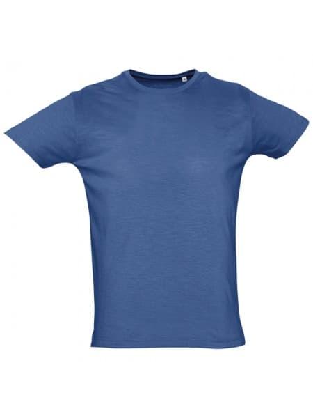 Футболка мужская FIRST 150, темно-синяя