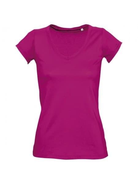 Футболка женская MILD 150 ярко-розовая