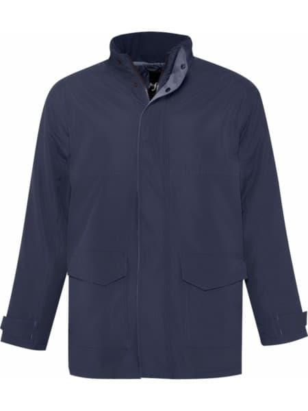 Куртка унисекс RECORD темно-синяя