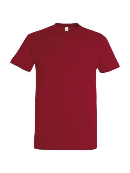 Футболка IMPERIAL 190, вишнево-красная