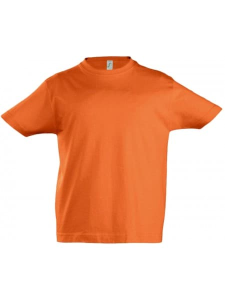 Футболка детская IMPERIAL KIDS, оранжевая
