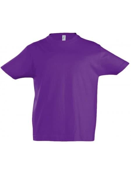 Футболка детская IMPERIAL KIDS, темно-фиолетовая
