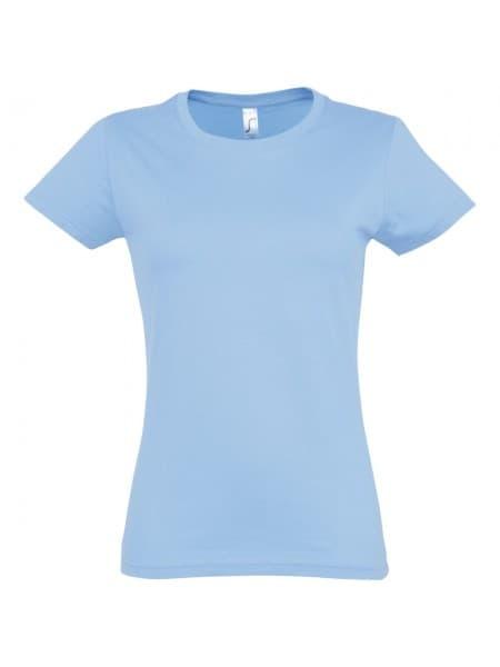 Футболка женская Imperial Women 190, голубая