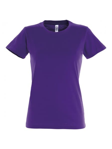 Футболка женская Imperial Women 190, темно-фиолетовая