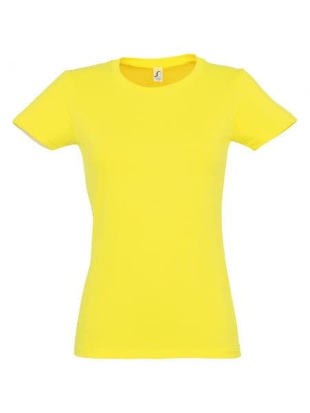 Футболка женская Imperial Women 190, лимонная