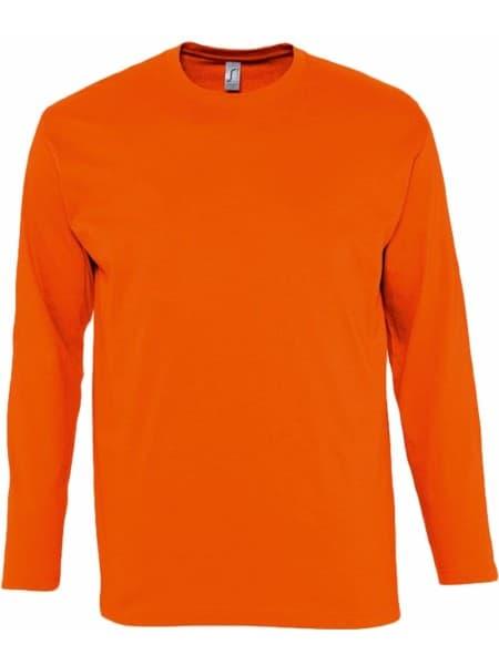 Футболка с длинным рукавом MONARCH 150, оранжевая