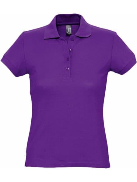 Рубашка поло женская PASSION 170, темно-фиолетовая