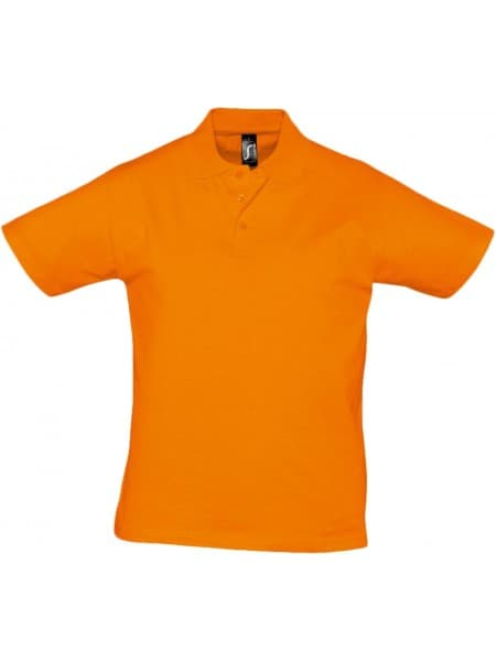 Рубашка поло мужская Prescott Men 170, оранжевая