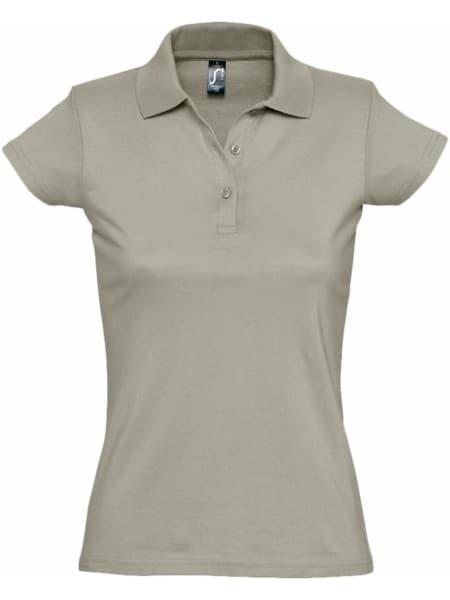 Рубашка поло женская Prescott Women 170, хаки
