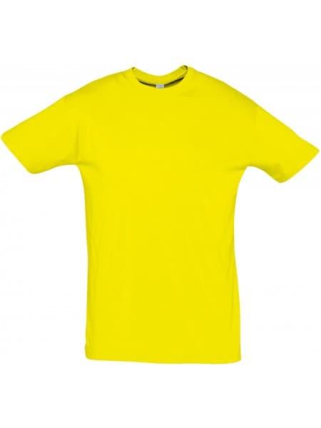 Футболка REGENT 150, желтая (лимонная)