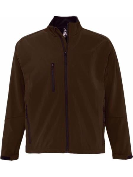 Куртка мужская на молнии RELAX 340, коричневая