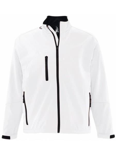 Куртка мужская на молнии RELAX 340, белая