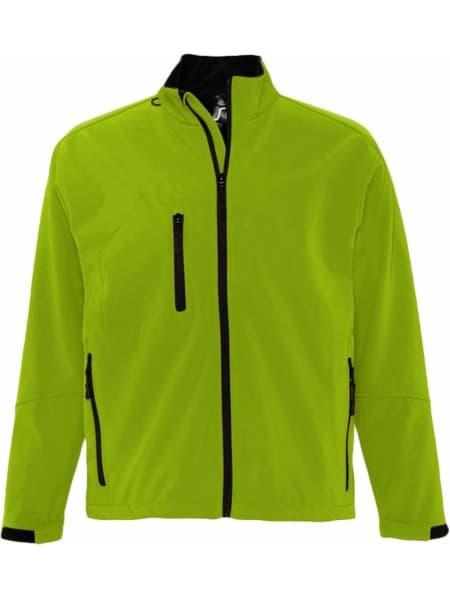 Куртка мужская на молнии RELAX 340, зеленая