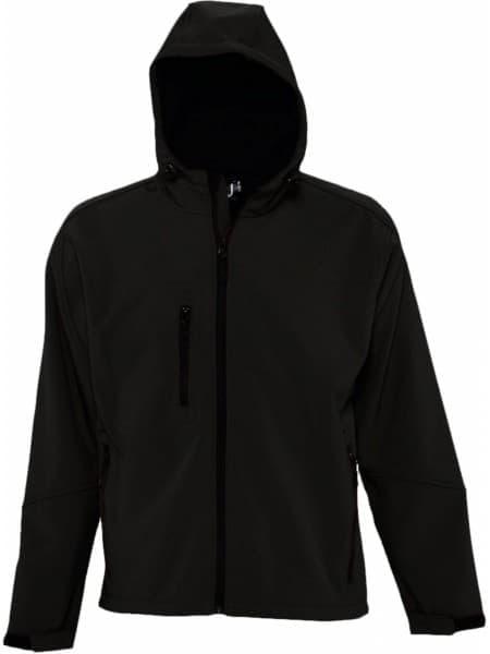 Куртка мужская с капюшоном Replay Men 340, черная