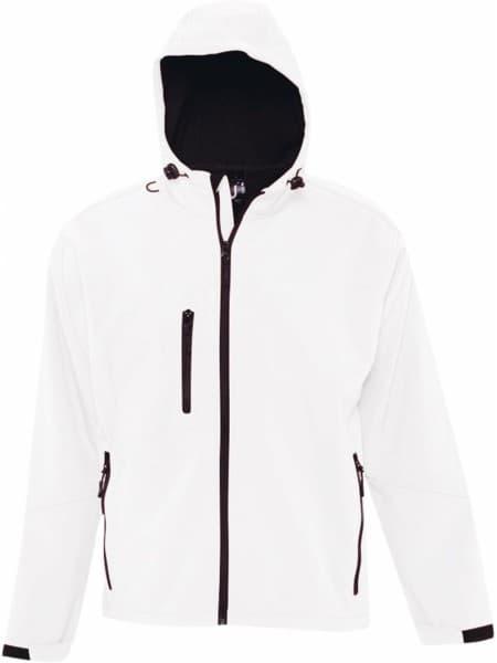 Куртка мужская с капюшоном Replay Men 340, белая
